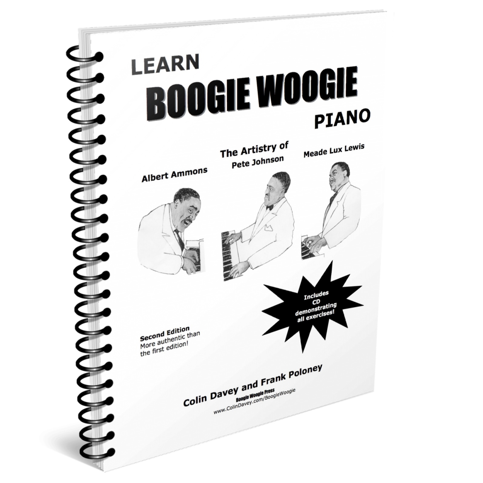 Learn Boogie Woogie Piano - cover